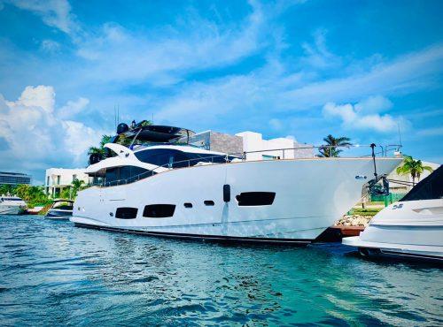 85 ft azimut yacht